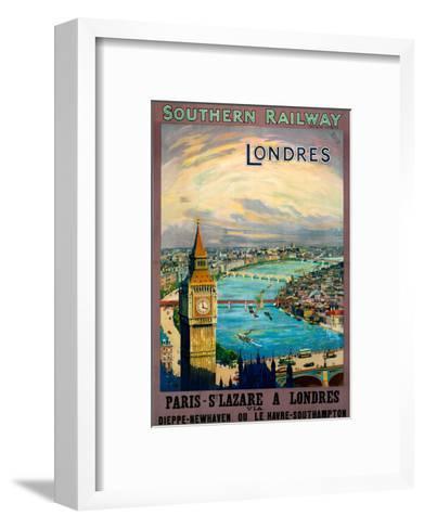 Londres, SR, c.1923-1947--Framed Art Print