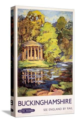 Stowe, Buckinghamshire, BR (ER), c.1950s--Stretched Canvas Print