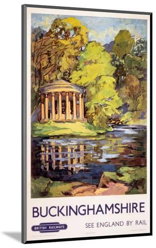 Stowe, Buckinghamshire, BR (ER), c.1950s--Mounted Art Print