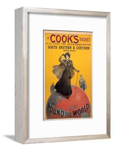 A Cooks Ticket, SE&CR, c.1910--Framed Art Print