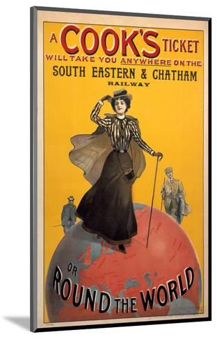 A Cooks Ticket, SE&CR, c.1910--Mounted Art Print