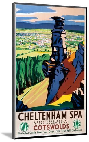 Cheltenham Spa, GWR/LMS, c.1923-1947--Mounted Art Print
