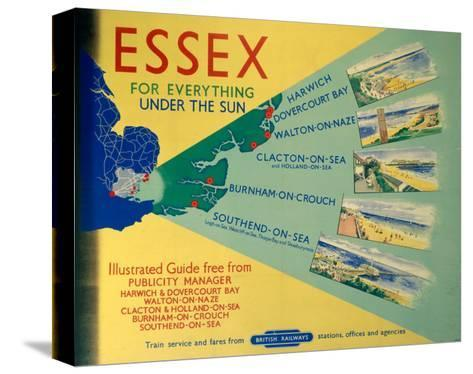 Essex: For Everything Under the Sun, BR, c.1948-1965--Stretched Canvas Print