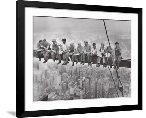 City Lunch--Framed Art Print