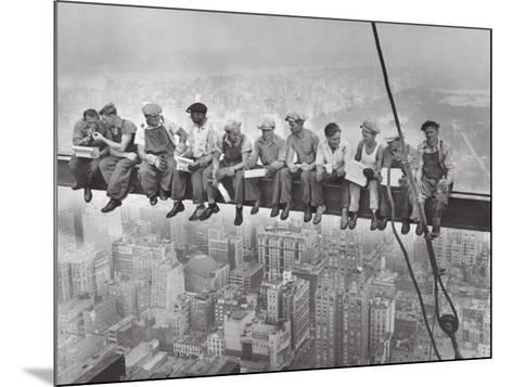 City Lunch--Mounted Art Print