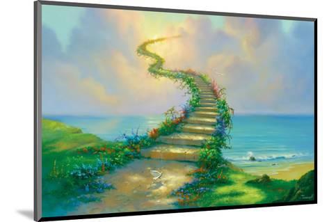Stairway to Heaven-Jim Warren-Mounted Premium Giclee Print