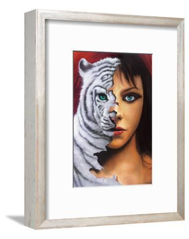 The Tigress-Jim Warren-Framed Art Print
