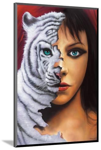 The Tigress-Jim Warren-Mounted Premium Giclee Print