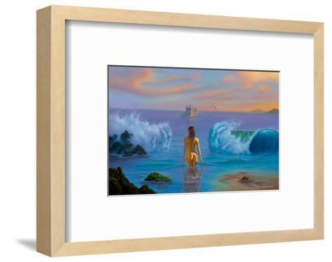 The Calling-Jim Warren-Framed Art Print