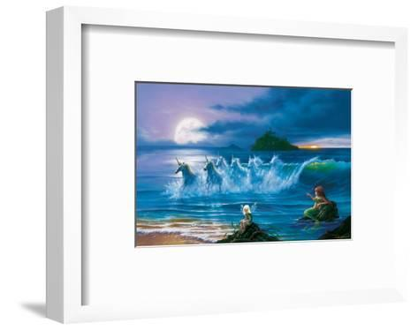 They Only Come Out at Night-Jim Warren-Framed Art Print