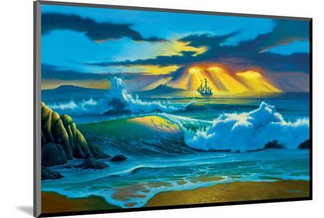 Fanta-Sea-Jim Warren-Mounted Premium Giclee Print