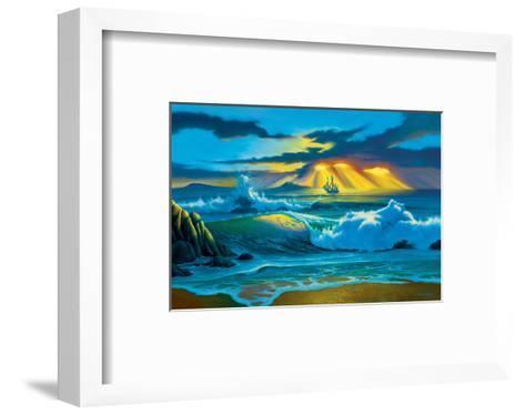 Fanta-Sea-Jim Warren-Framed Art Print