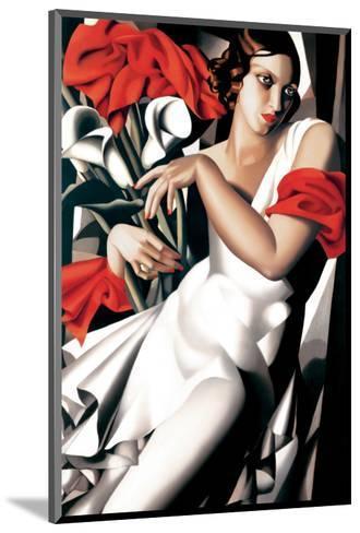 Portrait of Ira-Tamara de Lempicka-Mounted Premium Giclee Print