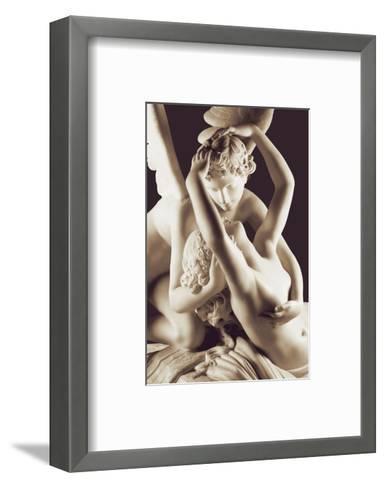 Cupid and Psyche, 1796-Antonio Canova-Framed Art Print