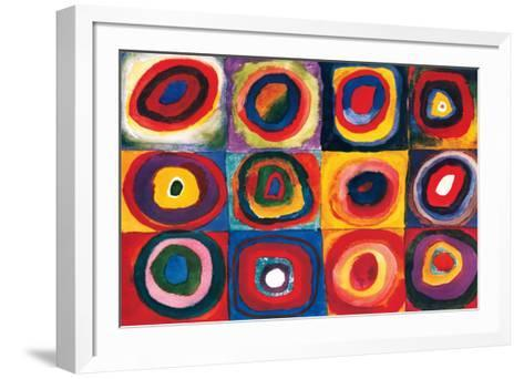 Color Study of Squares-Wassily Kandinsky-Framed Art Print