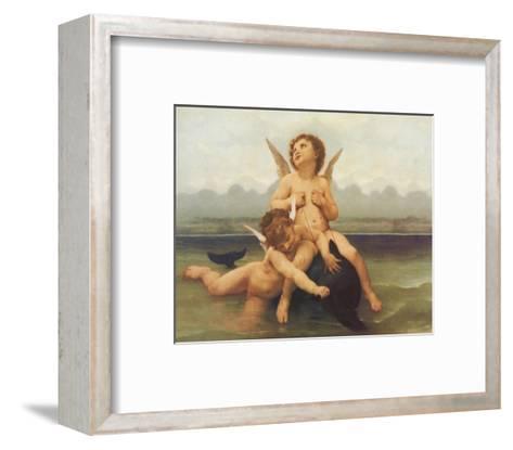 Birth of Venus (detail)-William Adolphe Bouguereau-Framed Art Print