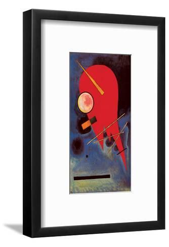 Rouge-Wassily Kandinsky-Framed Art Print