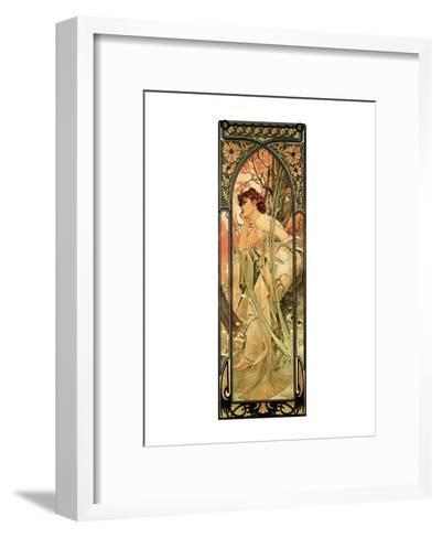 Evening-Alphonse Mucha-Framed Art Print