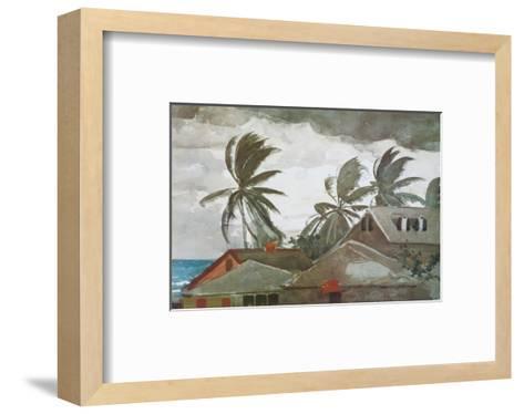 Hurricane, Bahamas, c.1898-Winslow Homer-Framed Art Print