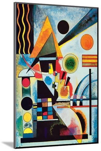 Balancement-Wassily Kandinsky-Mounted Premium Giclee Print