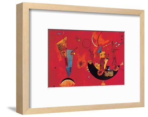 Mit und Gegen-Wassily Kandinsky-Framed Art Print