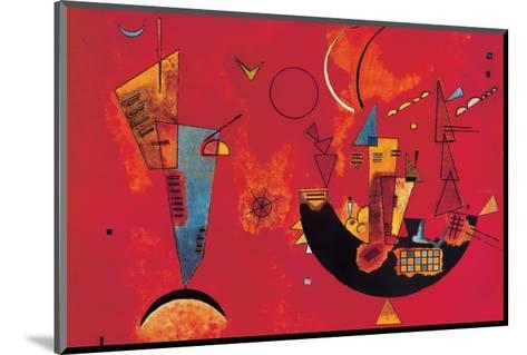 Mit und Gegen-Wassily Kandinsky-Mounted Premium Giclee Print
