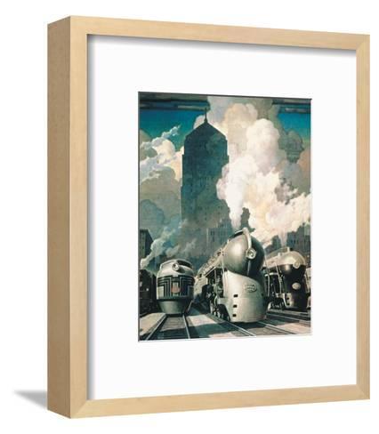 New York Central System--Framed Art Print