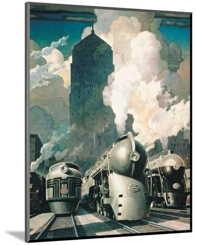 New York Central System--Mounted Premium Giclee Print