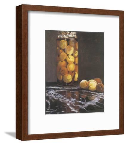 Jar of Peaches-Claude Monet-Framed Art Print