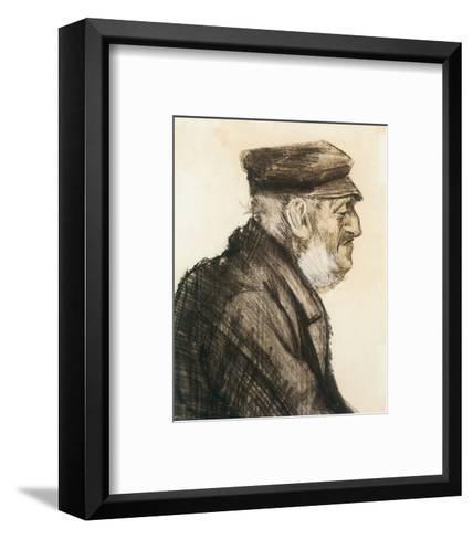 Orphan Man, Bust-Length-Vincent van Gogh-Framed Art Print