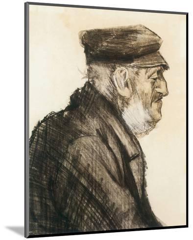 Orphan Man, Bust-Length-Vincent van Gogh-Mounted Premium Giclee Print