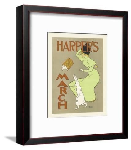 Harper's Magazine, March 1894-Edward Penfield-Framed Art Print