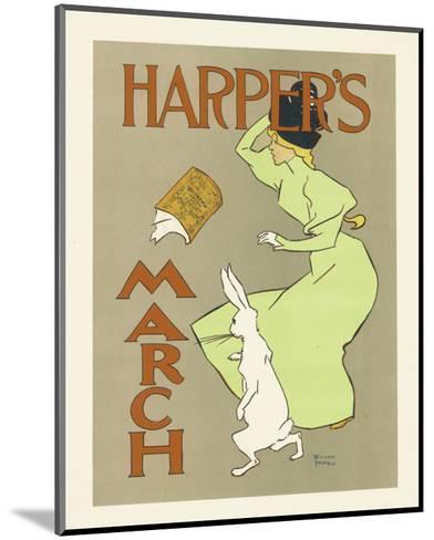 Harper's Magazine, March 1894-Edward Penfield-Mounted Premium Giclee Print