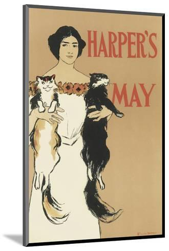 Harper's Magazine, May 1897-Edward Penfield-Mounted Premium Giclee Print