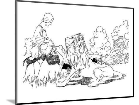 The Lion in Love-Charles Robinson-Mounted Premium Giclee Print
