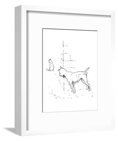 The House That Jack Built-Randolph Caldecott-Framed Art Print