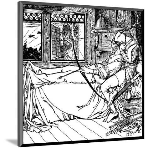 The Merry Adventures of Robin Hood-Howard Pyle-Mounted Premium Giclee Print