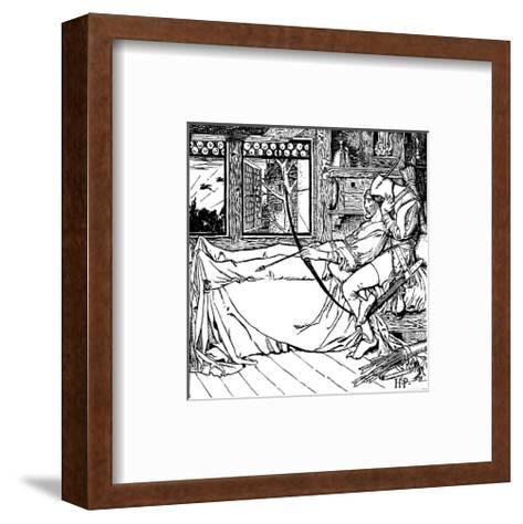 The Merry Adventures of Robin Hood-Howard Pyle-Framed Art Print