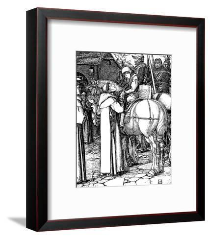 Otto of The Silver Hand-Howard Pyle-Framed Art Print