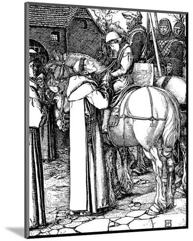 Otto of The Silver Hand-Howard Pyle-Mounted Premium Giclee Print