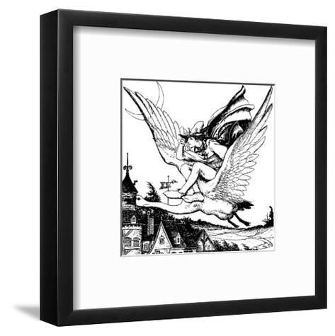 The Wonder Clock-Howard Pyle-Framed Art Print