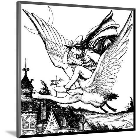 The Wonder Clock-Howard Pyle-Mounted Premium Giclee Print
