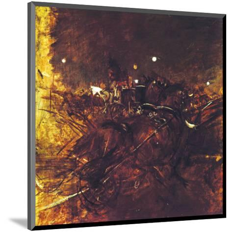 Night on Montmartre-Giovanni Boldini-Mounted Premium Giclee Print