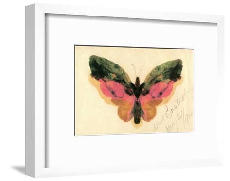 Butterfly-Albert Bierstadt-Framed Art Print
