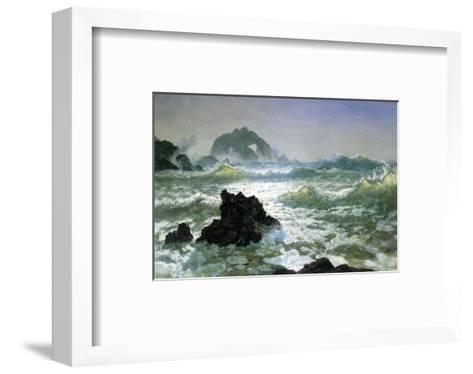 Seal Rock, California-Albert Bierstadt-Framed Art Print