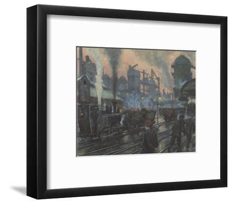 Ironworks-Hans Baluschek-Framed Art Print