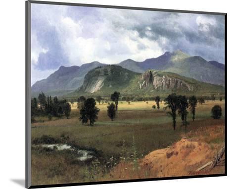 Moat Mountain, New Hampshire-Albert Bierstadt-Mounted Premium Giclee Print