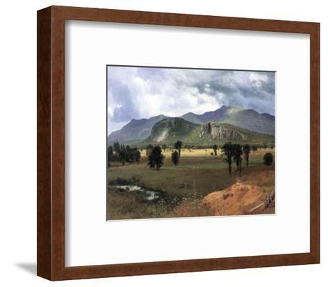 Moat Mountain, New Hampshire-Albert Bierstadt-Framed Art Print