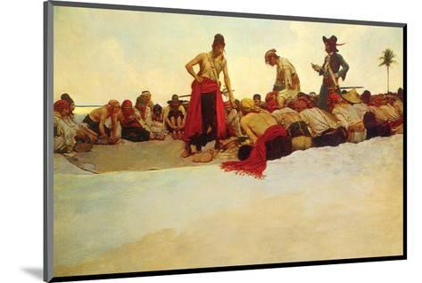 So The Treasure Was Divided-Howard Pyle-Mounted Premium Giclee Print