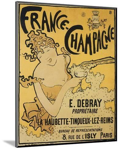 France-Champagne-Pierre Bonnard-Mounted Premium Giclee Print